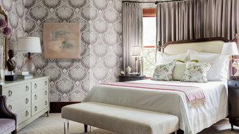Fresh Victorian Master Bedroom - Newton, MA