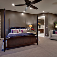 Contemporary Bedroom by Fringe Design