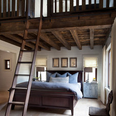 Farmhouse Bedroom by Dalgleish Construction Company