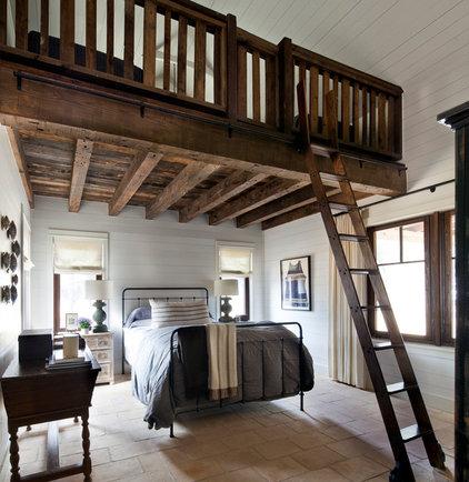 Farmhouse Bedroom by Dalgleish Construction Company