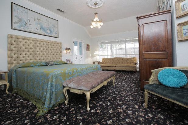 Eclectic Bedroom by Lindsay von Hagel