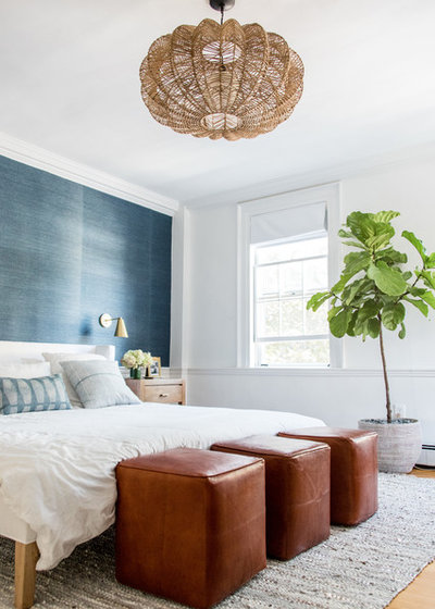 Coastal Bedroom by Sage Market + Design
