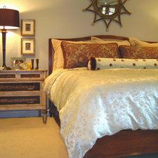 Eclectic Bedroom by Dona Rosene Interiors