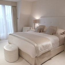 Transitional Bedroom by Coombe Interiors ltd