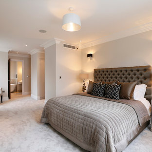 Ensuite Bathroom And Dressing Room In The Master Bedroom Ideas Photos Houzz