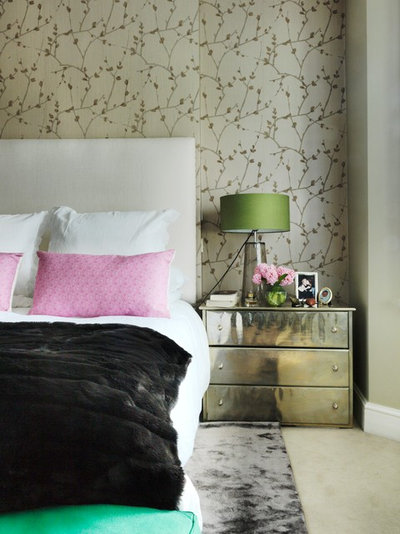 Contemporary Bedroom by Juliette Byrne
