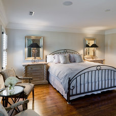 Eclectic Bedroom by Andrew Roby General Contractors