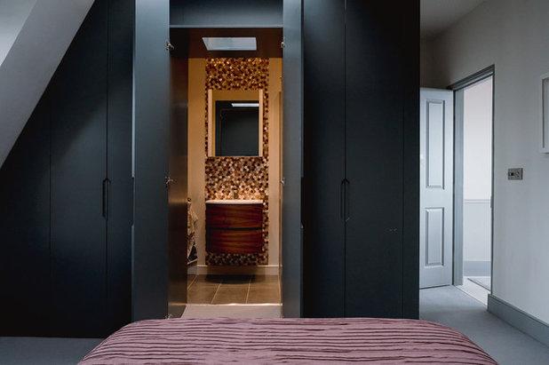 Modern Bedroom by Elemental Studio Ltd