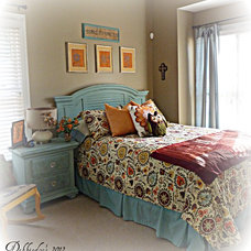 Eclectic Bedroom by Debbiedoo's