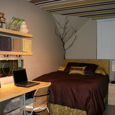 Contemporary Bedroom by Personal Touch Interiors