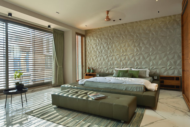 Asian Bedroom by Shubham Photography