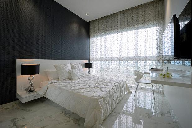 Modern Bedroom by GA design