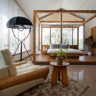 Asiatisches Schlafzimmer in Ahmedabad