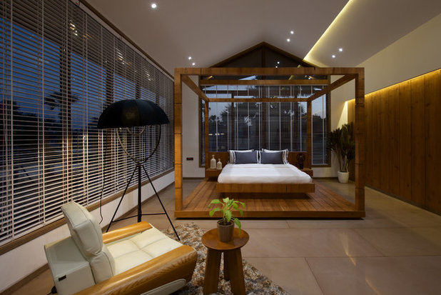 Asian Bedroom by B DESIGN 24 Studio