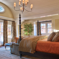 eclectic bedroom by Gabriel Builders Inc.
