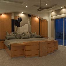 Contemporary Bedroom by Richard Luke Architects P.C.