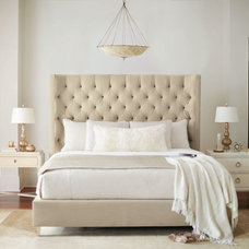 Transitional Bedroom by Paoli Design Center