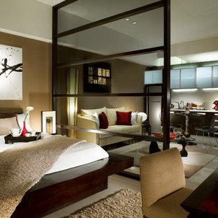 Exemple d'une chambre asiatique.