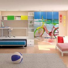 Modern Bedroom by Moody Design Est.