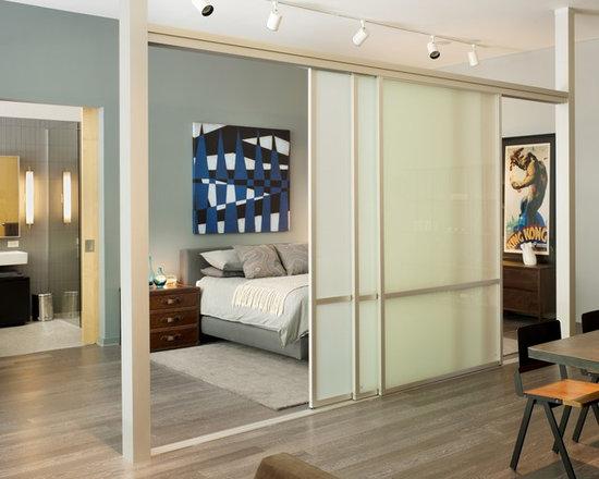 Sliding Door Room Divider