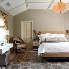 Transitional Bedroom by Palladio Interior Design & Wallace J. Toscano AIA