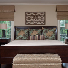 bedroom by Anna Baskin Lattimore Design