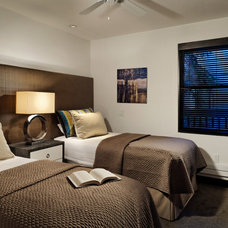 Contemporary Bedroom by Anne Grice Interiors
