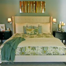 Contemporary Bedroom by Micaela Roberts Interiors