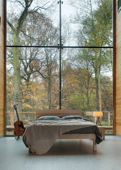 Minimalistisch Schlafzimmer by Natural Bed Company