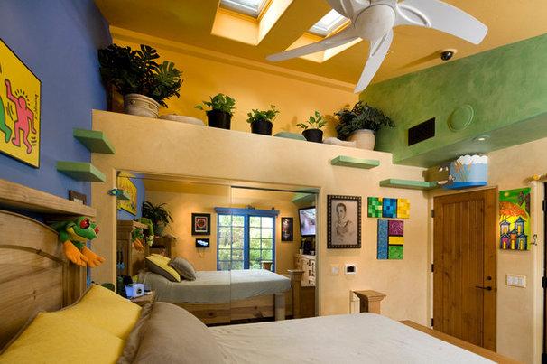 Eclectic Bedroom by Trillium Enterprises, INC.