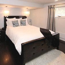 Modern Bedroom by Christy Branson