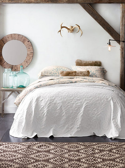 Rustikales Schlafzimmer von Garnet Hill