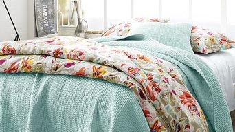 Garnet Hill Rustic Roses Bedroom