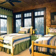 Traditional Bedroom by Rabaut Design Associates, Inc.