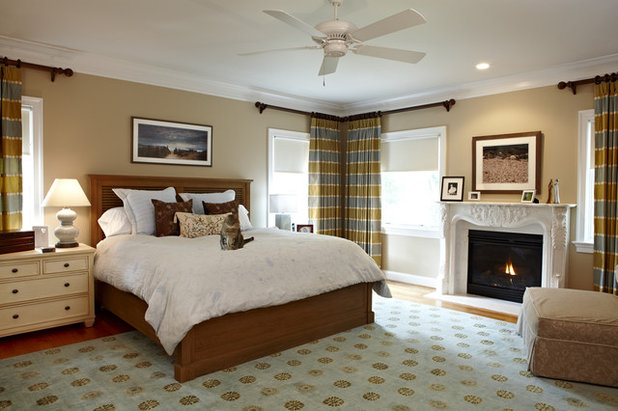 Beautiful Traditional Bedroom by Designing Solutions