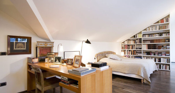 Eclectic Bedroom by Goring & Straja Architects