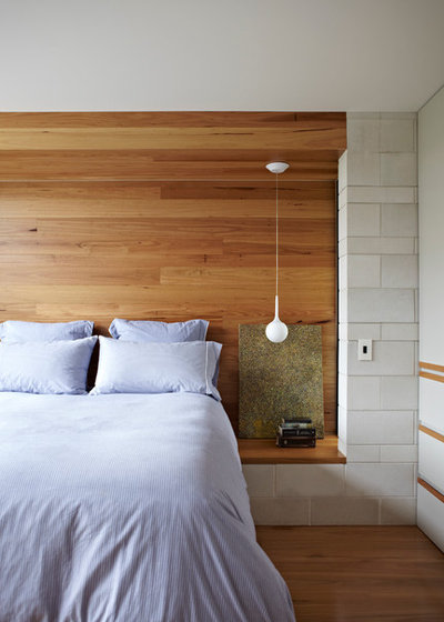 Современный Спальня by Austral Masonry