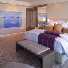 Contemporary Bedroom by Geller Design Group, Inc.