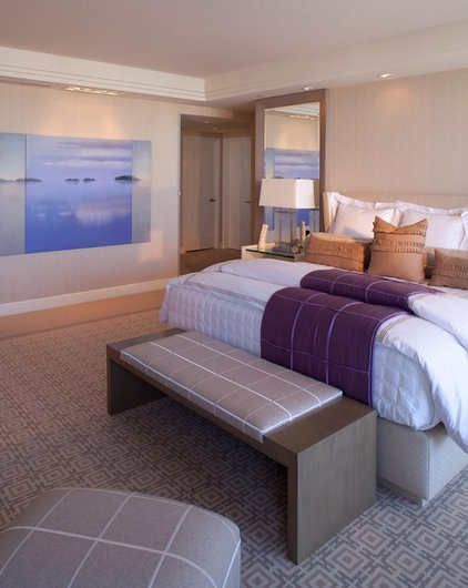 Contemporary Bedroom by Geller Design Group, Inc.