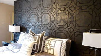 Geometric Glam - Master Bedroom