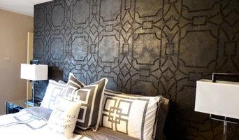 Geometric Glam - Master Bedroom