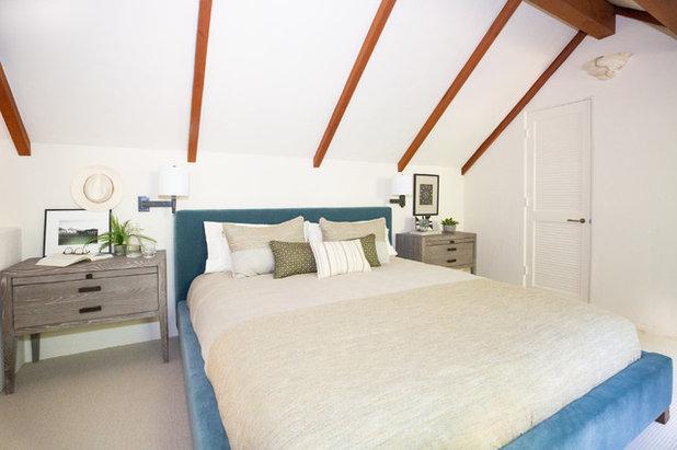 Transitional Bedroom by Hayley Bridges Design