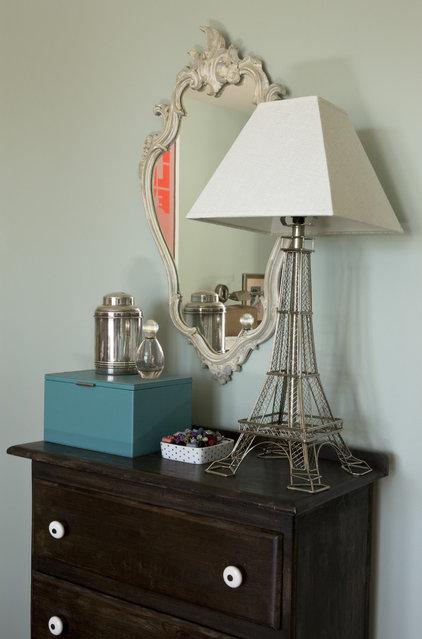 Transitional Bedroom by Liz Levin Interiors