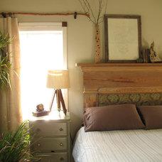 Eclectic Bedroom by Cris Angsten Interiors