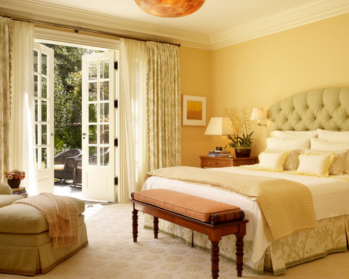 Bedroom With French Doors | Houzz