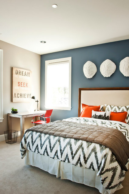 contemporary bedroom by Cyndi Parker Interiors
