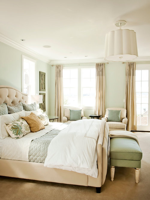 Light Green Walls Design Ideas & Remodel Pictures | Houzz