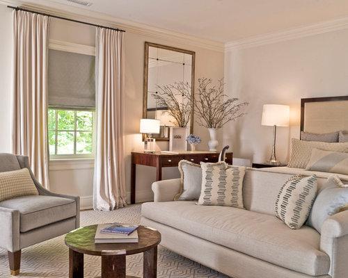 off white drapes houzz. Black Bedroom Furniture Sets. Home Design Ideas