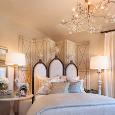 Transitional Bedroom by frank pitman designs