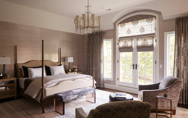 Transitional Bedroom by Buckingham Interiors + Design LTD